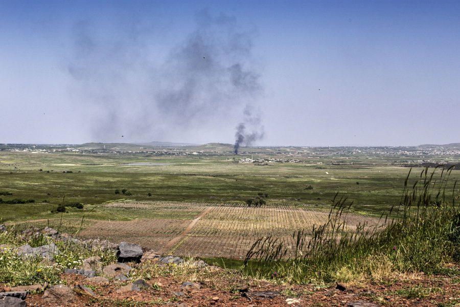 Spanning op de Golan