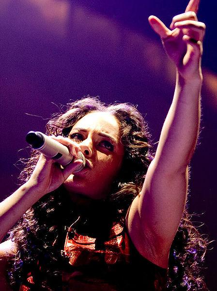 Alicia Keys naar Tel Aviv