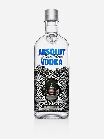 Absolut Vodka maakt een speciale Tel-Aviv-fles
