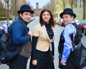 Feestelijke klezmer en Jiddische muziek in MerkAz