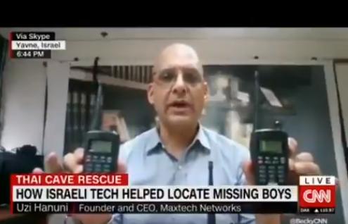 Israëlische technologie bij reddingsactie Thaise jongens