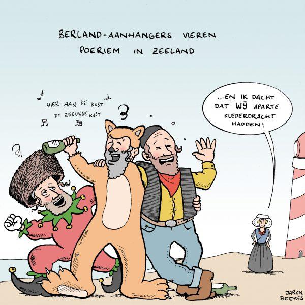 Overlast Berlandaanhangers