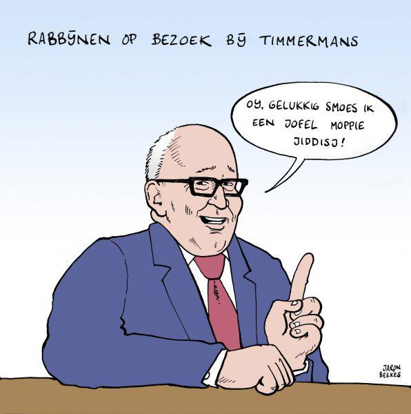 Timmermansontmoet rabbijnen