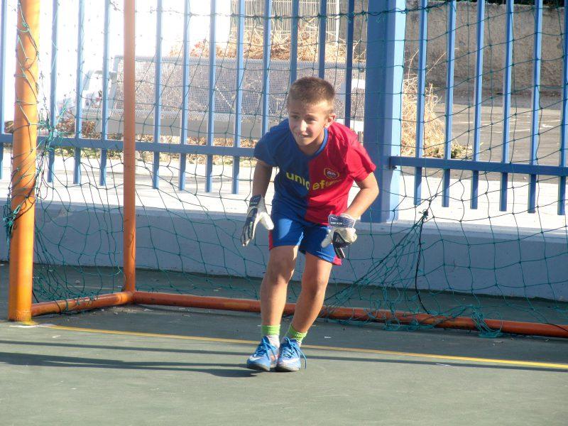 Het Cruyff Court in Yaffo:  de praktijk