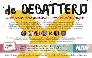 Debatterij van Crescas. Zondag 29 november