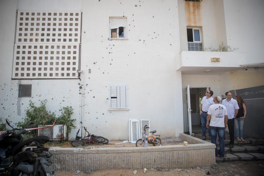 Israëlische burgers gewond na beschietingen vanuit Gazastrook