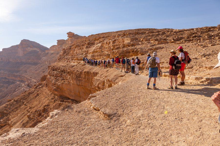 Walk Israel: elke stap telt