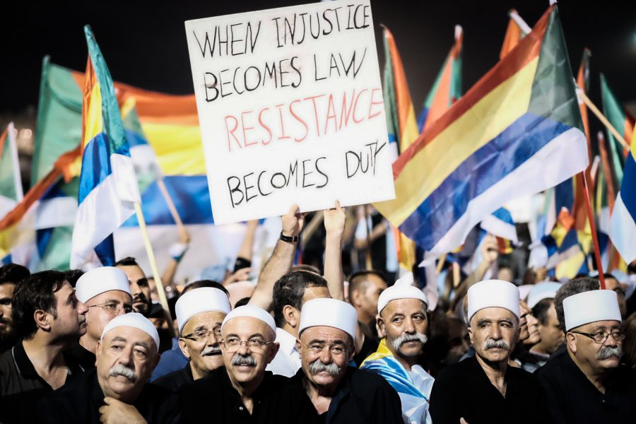 Verzet tegen Natiestaatwet groeit