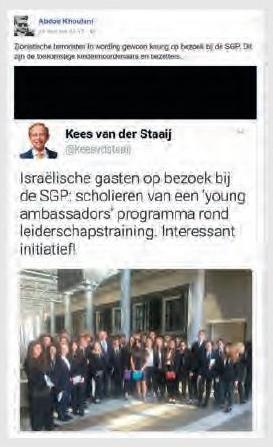 Tijd voor massa-aangifte tegen Haagse antisemiet