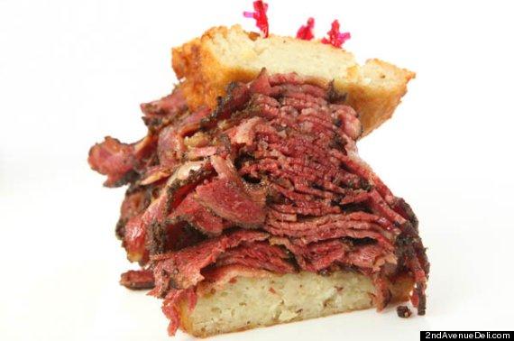 Kosjere hartaanval-sandwich