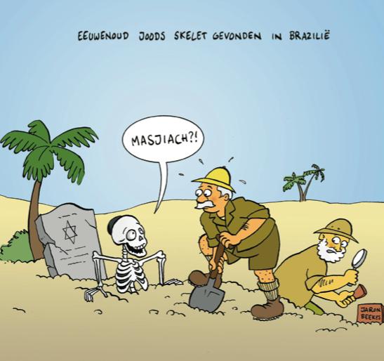 400 jaar oud Joods skelet gevonden