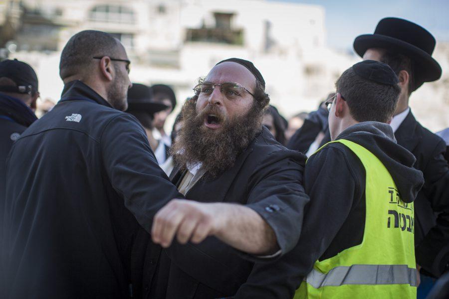 Een muur die het jodendom verdeelt