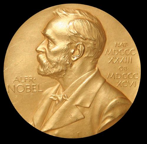 Handtekeningen voor Nobelprijs verzetsheld