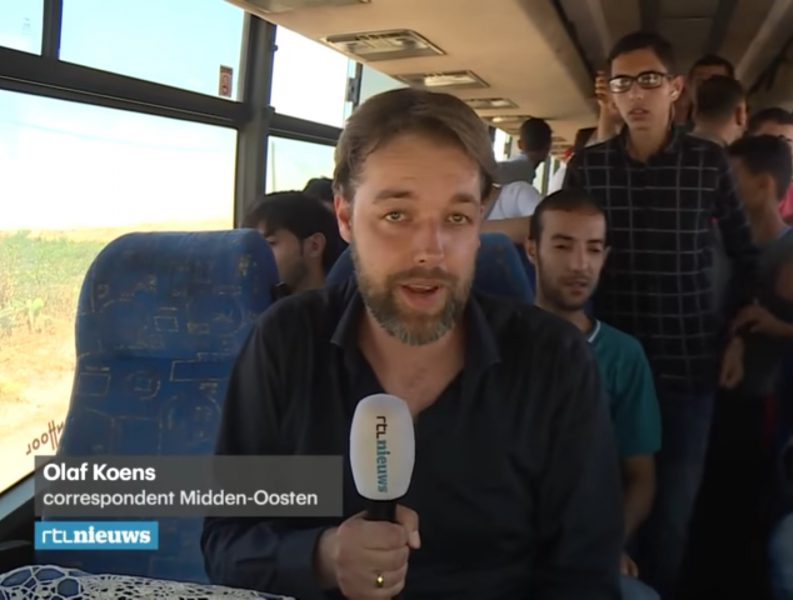 De Hamasliefde van Olaf Koens