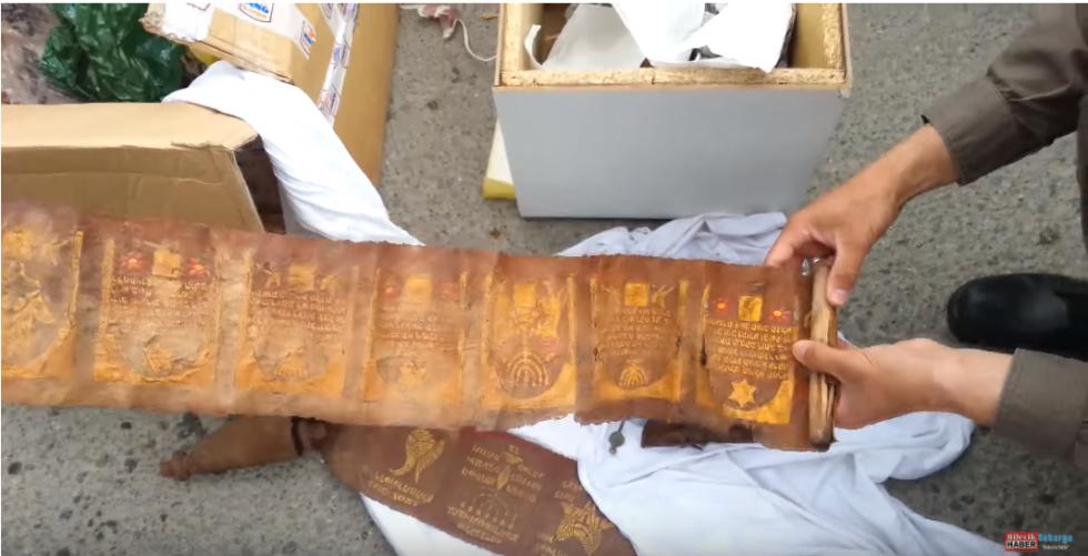 Syrische Torarollen gevonden