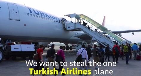 Vliegtuig jatten tegen honger