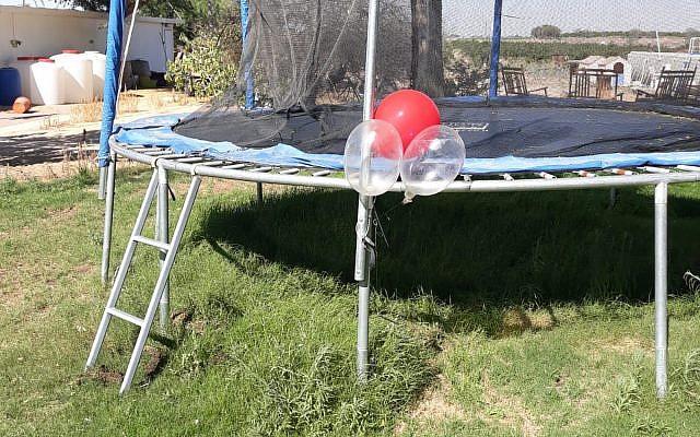 Terreurballonnen en jihadcondooms teisteren Israël