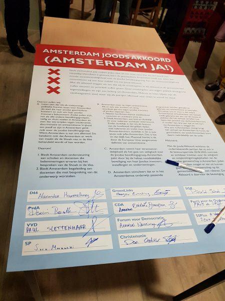 Amsterdam staat op tegen antisemitisme