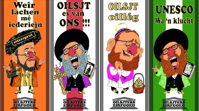 Opnieuw antisemitische karikaturen bij carnavalsviering Aalst