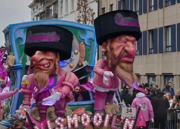 Opnieuw antisemitische praalwagens verwacht bij carnaval Aalst