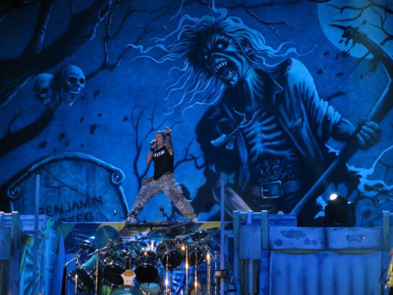Iron Maiden naar Tel Aviv
