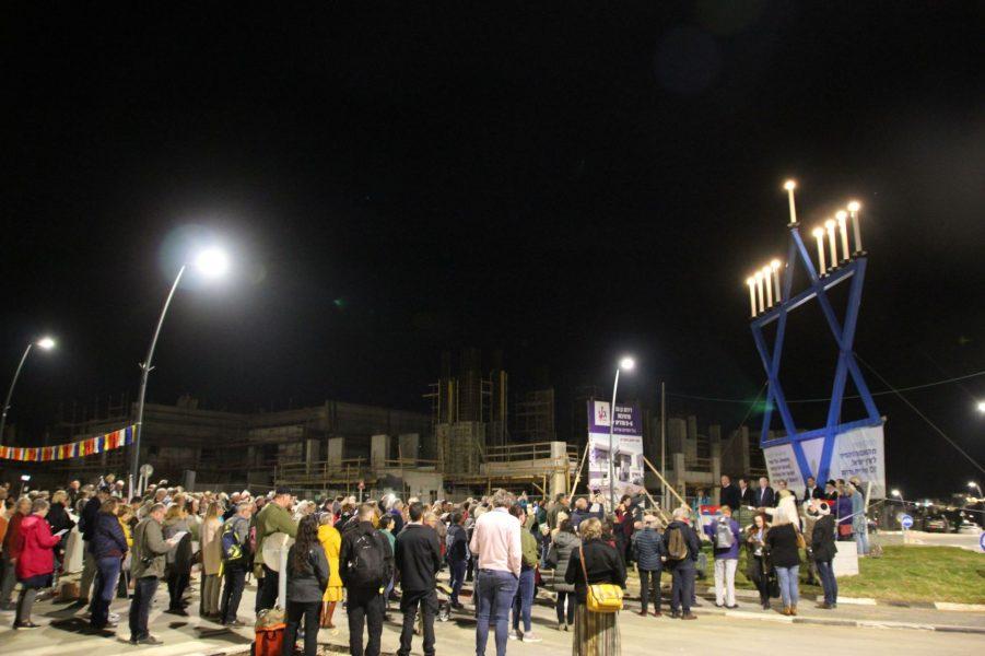 Grootste chanoekia staat in Sderot