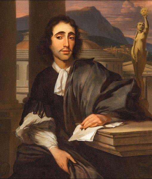 In de voetsporen van Spinoza: 'Alle verwensingen van het firmament'