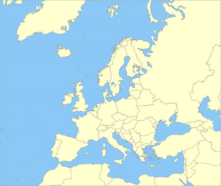 Steeds minder Europese Joden