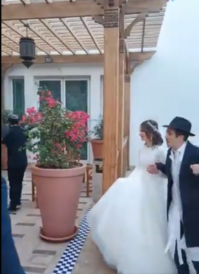 Eerste orthodox-Joodse bruiloft in Dubai