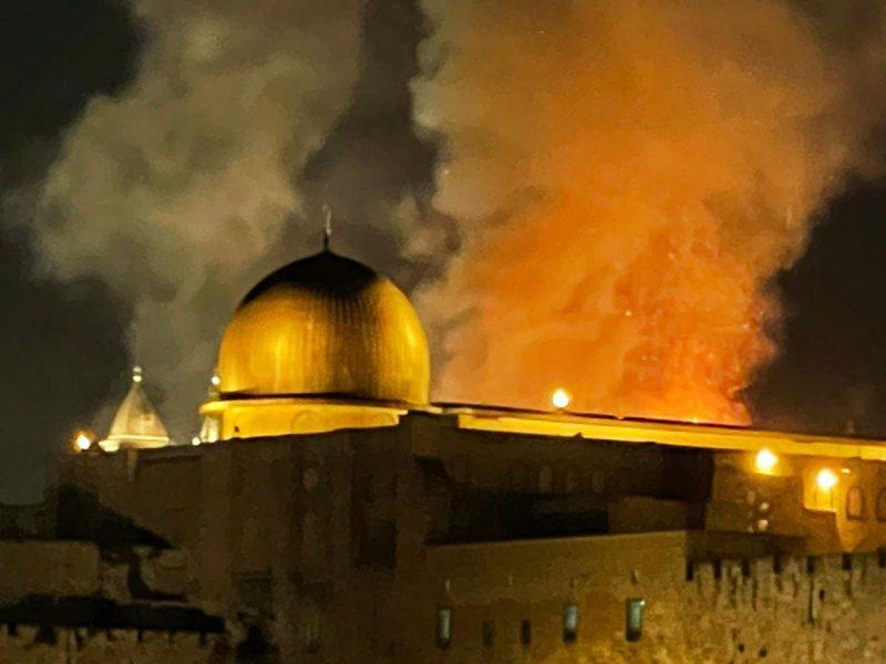 Hamas vuurt raketten af op Jeruzalem