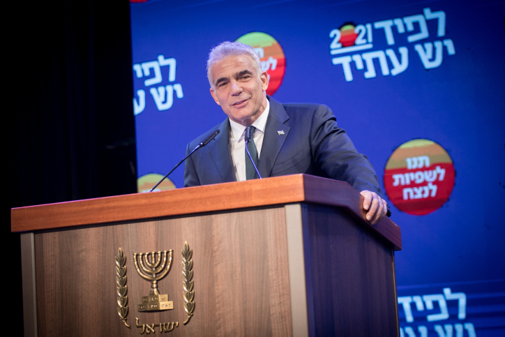 Lapid mag nieuwe regering vormen