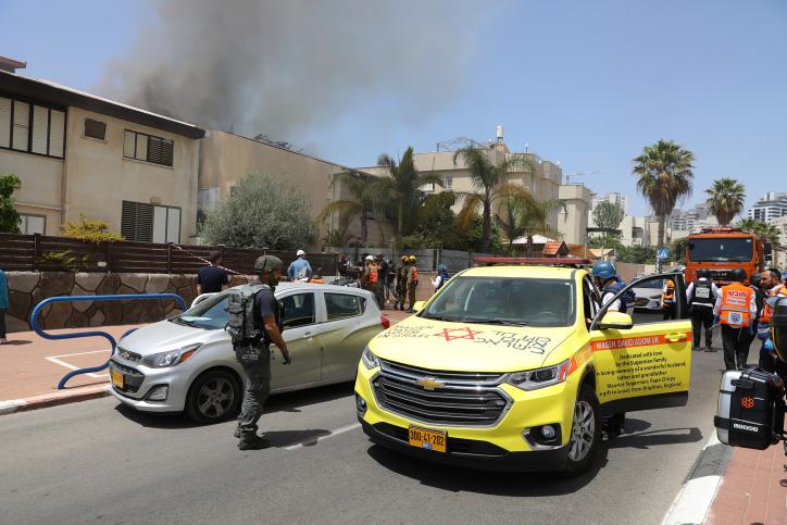 Twee doden in Ashkelon na raketaanval