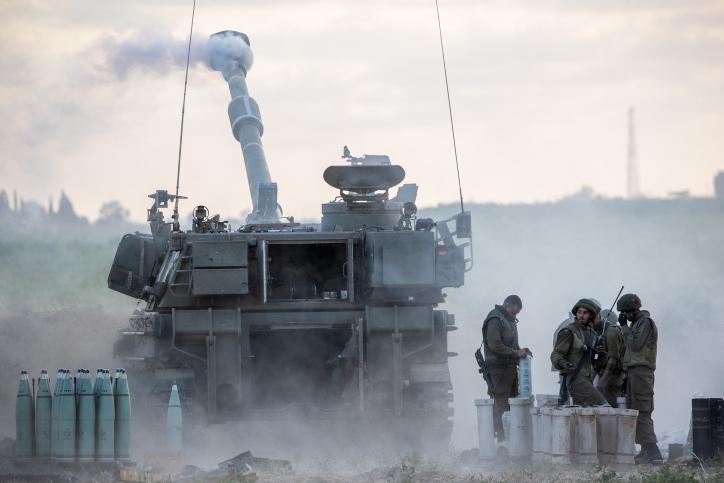 In Beeld: Israël onder vuur