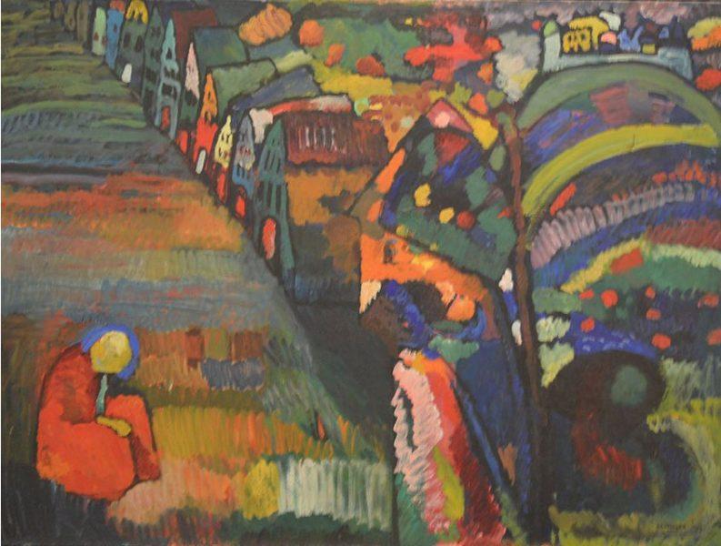 Kandinsky toch naar erfgenamen