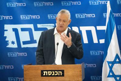Gantz: 'Israël is klaar om toe te slaan in Iran'